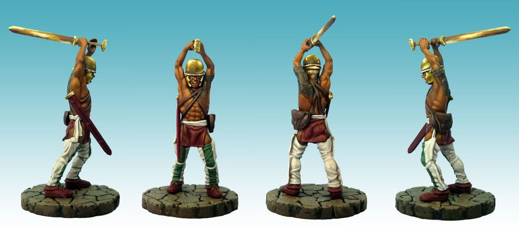 Warlord Games Woodland Indian Conversion by Roy Duffy